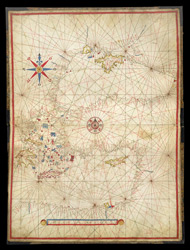 Portolan Chart of the Mediterranean Sea
